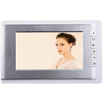 Ekran kolorowy LCD Wideodaufon Domofon Drzwi System telefoniczny (tylko dla naszej jednostki zewnętrznej)