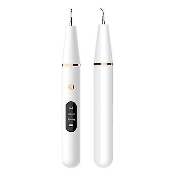 Ultrasonic electric tooth cleaner, portable household waterproof tooth whitening device