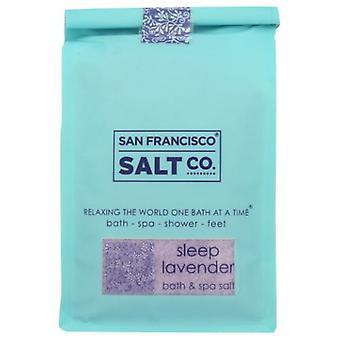 San Francisco Salt Co Bath Salts, Sleep Lavender 2 lb