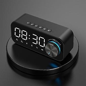 Home Led Alarm Clock, Bluetooth Speaker, Digital Display, Wireless Subwoofer,