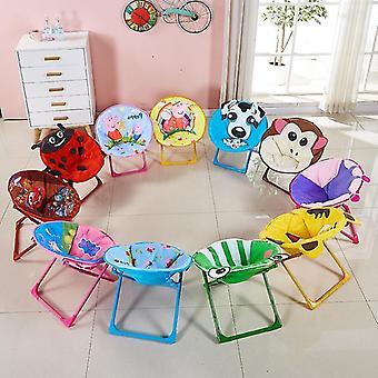 ילדים מתקפלים כיסא חוף קטן הירח כורסה בייבי קריקטורה משענת ילדים כיסא ללא החלקה