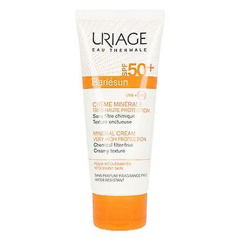 Facial Sun Cream Bariésun Nya Uriage Spf 50+ (100 ml)