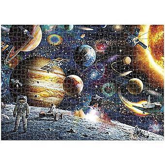 Jigsaw Puzzle Space Exploration