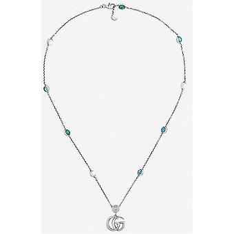 Gucci jewels gg marmont necklace ybb52739900100u