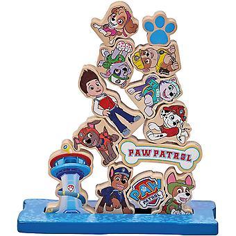 Paw Patrol juego de apilamiento de madera