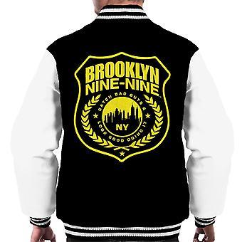Brooklyn Ni-Ni Badge Menn Varsity Jakke