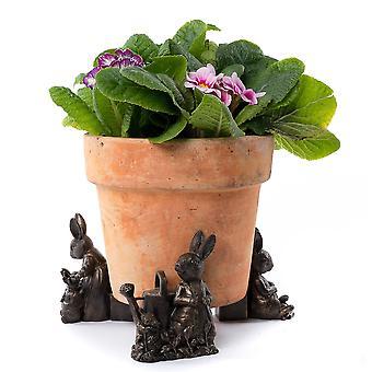Plant Pot Feet - Beatrix Potter - Peter Rabbit, Mrs Rabbit and Flopsy, Mopsy ...