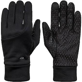Quiksilver Unisex Adults Toonka Lightweight Grippy Winter Gloves - Black