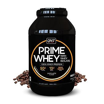 QNT Prime Whey Protein Powder 100% Whey Isolate - 908g - CafГ© Latte