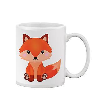 Cute Fox Sitting Mug -SPIdeals Designs