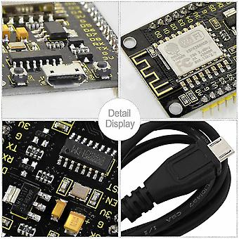 Motherboards keyestudio esp8266 wi-fi development board +1m usb cable supports 80mhz and 160 mhz