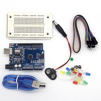 One Compatible Set Kit Profesional Uno For Arduino Uno R3