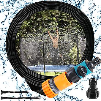 Trampolin Sprinkler, 15m Outdoor Wasserspiel Sprinkler Zubehör