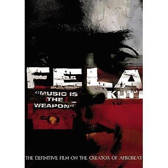 Fela Kuti - Music Is the Weapon [DVD] USA import