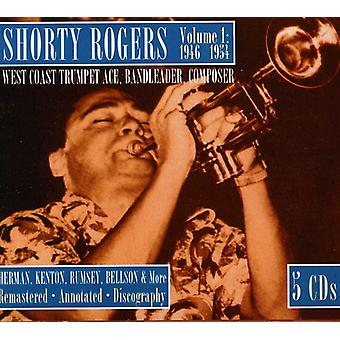 Shorty Rogers - Volume 1 1946-1954 West Coast Trumpet [CD] USA import
