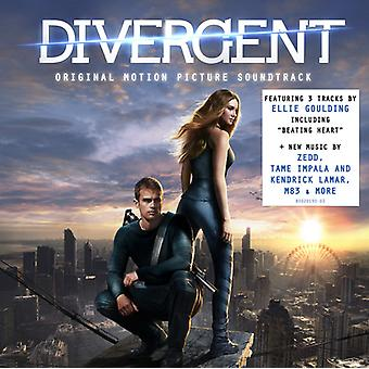 Divergent - avvikande [CD] USA import