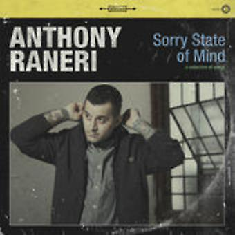 Anthony Raneri - Sorry State of Mind [Vinyl] USA import