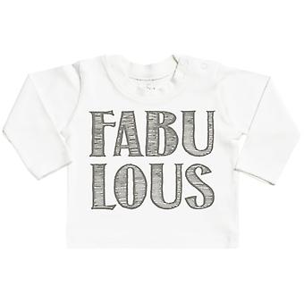 Spoilt Rotten FABULOUS Long Sleeve Baby T-Shirt Top