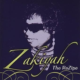 Zakiyah - Rezipe [CD] アメリカ インポートします。