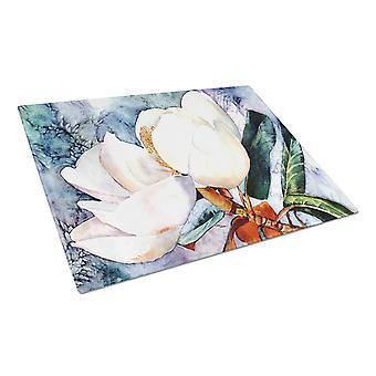 Carolines aarteita 8701LCB Magnolia lasinen leikkuulauta suuri