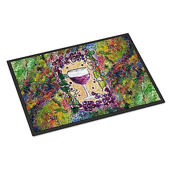 Carolines Treasures  8616JMAT Wine  Indoor or Outdoor Mat 24x36 Doormat