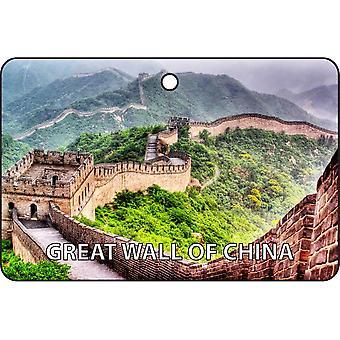 Great Wall Of China Car Air Freshener