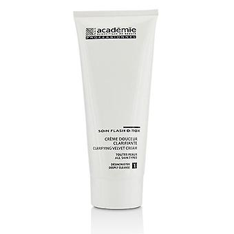 Academie Clarifying Velvet Cream (salon Size) - For All Skin Types - 200ml/6.7oz