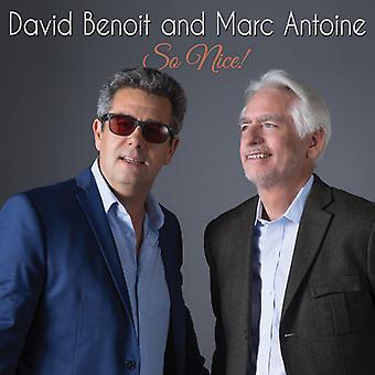 Benoit, David / Antoine, Marc - tan agradable! [CD] USA importación