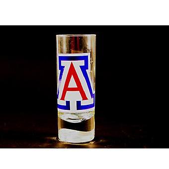 "Arizona Wildcats NCAA ""Hype"" Tall Shot Glass"