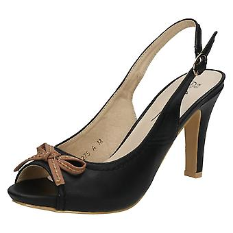 Doamnelor Anne Michelle Slingback Peep Toe sandale