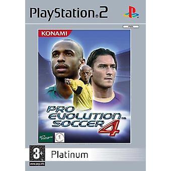 Pro Evolution Soccer 4 Platinum (PS2) - New Factory Sealed