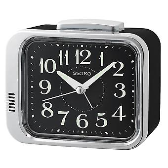 セイコー ベル目覚まし時計文字盤ブラック (モデル ナンバーQHK049A)