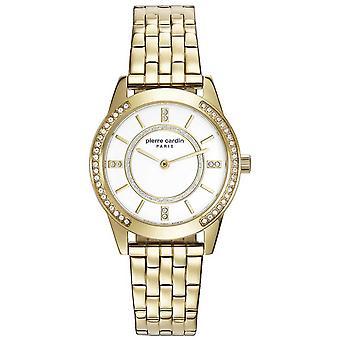 Pierre Cardin Damen Uhr Armbanduhr TROCA gold PC108182F06