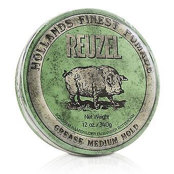 Green Pomade (grease Medium Hold) - 340g/12oz