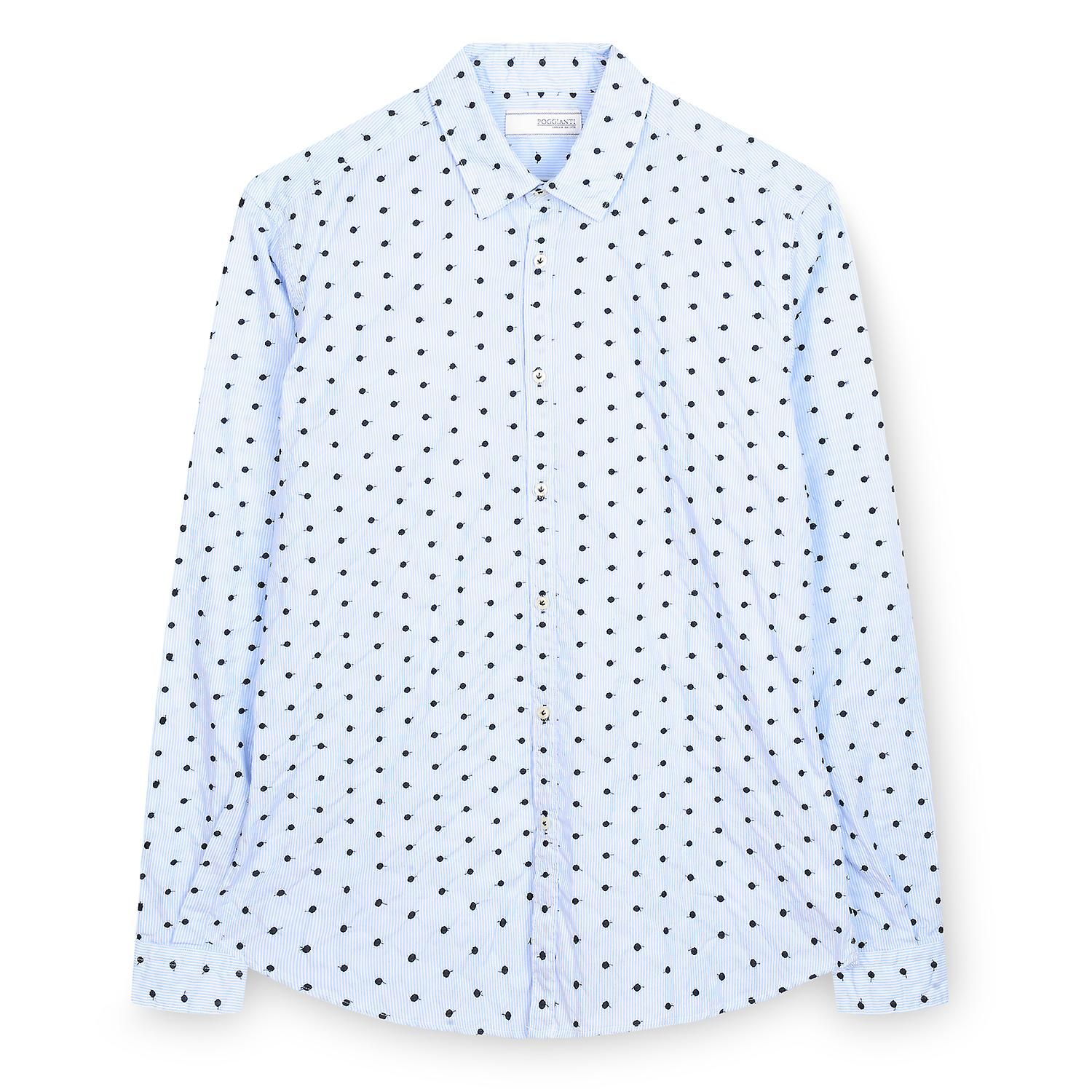 Fabio Giovanni Cornello Shirt - Expertly crafted in an Italian cotton blend - High Quality Italian Shirt