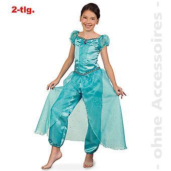 יסמין תלבושות ילדים Aladin 1001 לילה הרמון ליידי ג'יני תחפושת ילדים