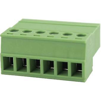 Gabinete de Degson Pin - cabo 15EDGKR Número total de pinos 3 Espaçamento de contato: 3,81 mm 15EDGKR-3.81-03P-14-00AH 1 pc(s)