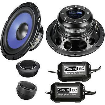 Sinustec ST-165 2 way flush mount speaker set 300 W Content: 1 Set