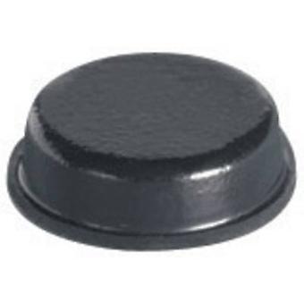 PB bevestiger BS-34-CL-R-12 voet zelfklevende, cirkelvormige Clear (Ø x H) 9,5 x 3,2 mm 12 PC('s)