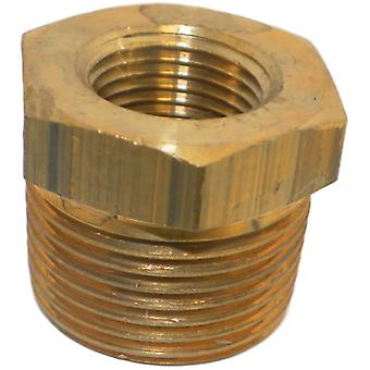 Big A 3-21090 Brass Pipe Inverted Male Tube Connector 3/4