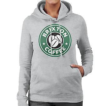 Brixton kahvia Starbucks naisten hupullinen pusero