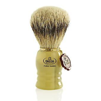 Omega 620 1st Grade Super Badger Hair Shaving Brush