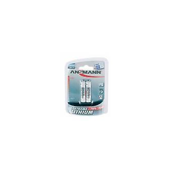 Ansmann ekstreme Lithium Micro AAA batteri 2 pc'er