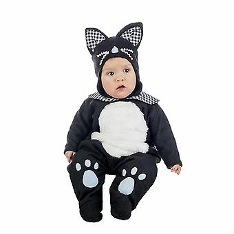 Katze Babykostüm Kätzchen Kater Baby Kostüm Overall