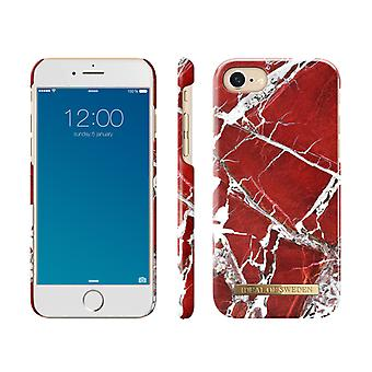 iDeal Of Sweden iPhone 6/6S/7/8/SE shell - Red Marble