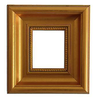 7x8, 5 cm, gold frame