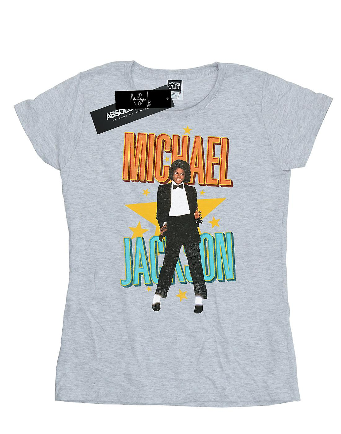 Michael Jackson Women's Retro Star T-Shirt