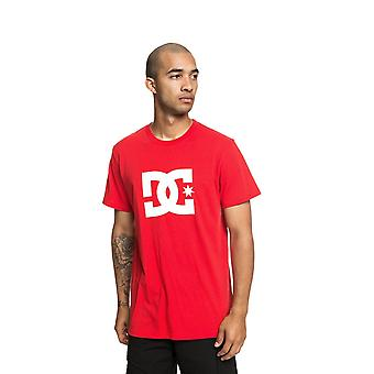 DC Star 2 Kurzarm T-Shirt in Racing Red
