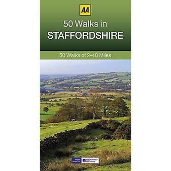 50 Walks in Staffordshire (3rd Revised edition) by AA Publishing - 97