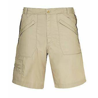 Champion Mens Multi Pocket Cargo Knee Length Swim Shorts - Stone - 34